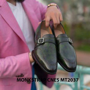Giày da nam đẹp Monkstrap CNES MT2037 003