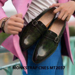 Giày da nam đẹp Monkstrap CNES MT2037 002