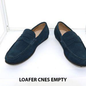 Giày lười nam rút tay Mocasin Loafer CNES EMPTY 010