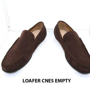 Giày lười nam rút tay Mocasin Loafer CNES EMPTY 007