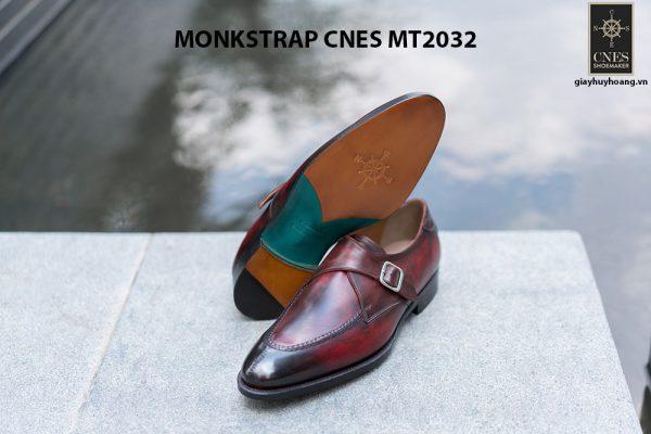 Giày tây nam cao cấp Monkstrap CNES MT2033 005