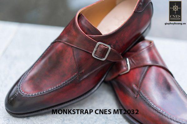 Giày tây nam cao cấp Monkstrap CNES MT2033 004
