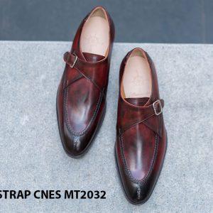 Giày tây nam cao cấp Monkstrap CNES MT2033 001