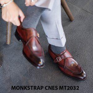 Giày tây nam cao cấp Monkstrap CNES MT2033 003