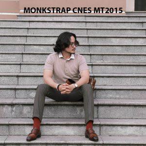 Giày da nam xỏ khóa Monkstrap CNES MT2015 005