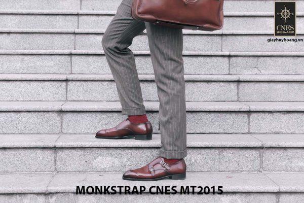 Giày da nam xỏ khóa Monkstrap CNES MT2015 001