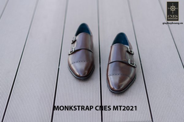 Giày tây nam hàng hiệu Monkstrap CNES MT2021 005