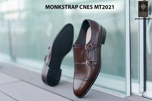 Giày tây nam hàng hiệu Monkstrap CNES MT2021 003