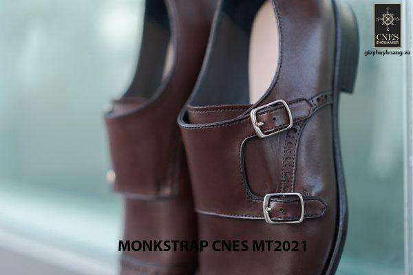 Giày tây nam hàng hiệu Monkstrap CNES MT2021 002