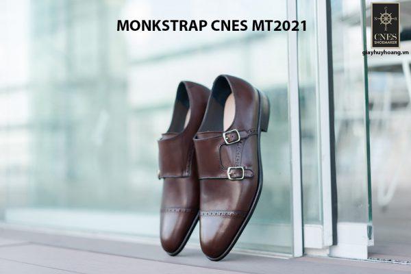 Giày tây nam hàng hiệu Monkstrap CNES MT2021 001