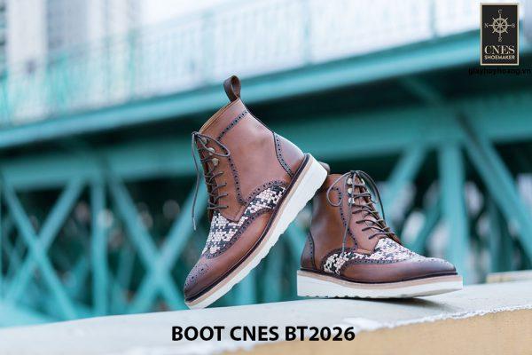 Giày tây nam cột dây Boot CNES BT2026 001