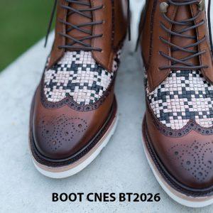 Giày tây nam cột dây Boot CNES BT2026 007