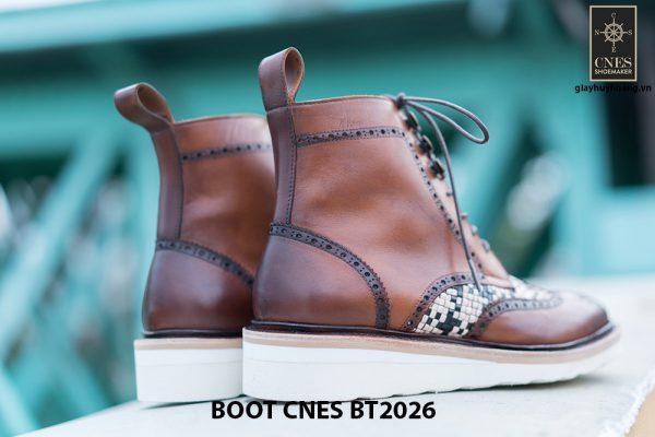 Giày tây nam cột dây Boot CNES BT2026 004