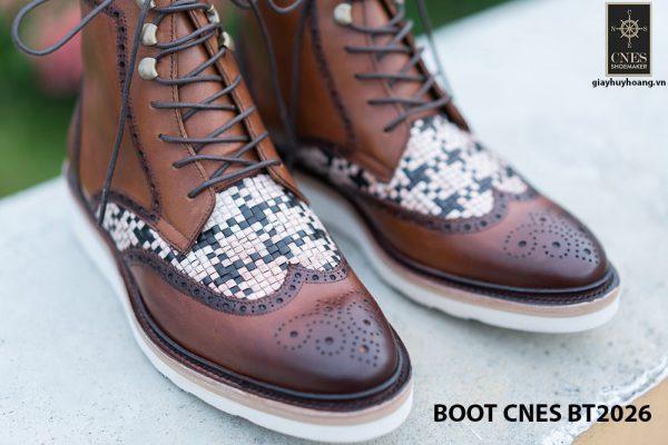 Giày tây nam cột dây Boot CNES BT2026 003