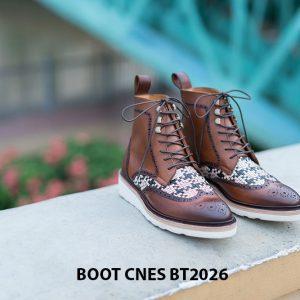 Giày tây nam cột dây Boot CNES BT2026 002
