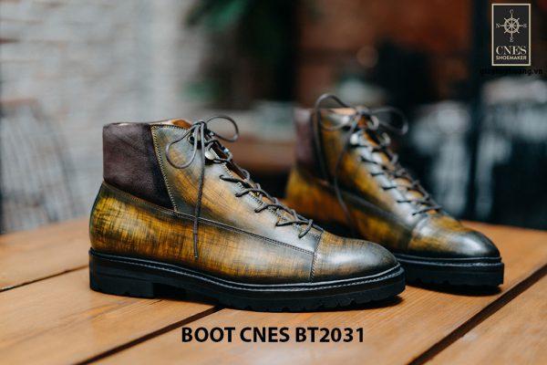 Giày cổ cao Boot CNES BT2031 001