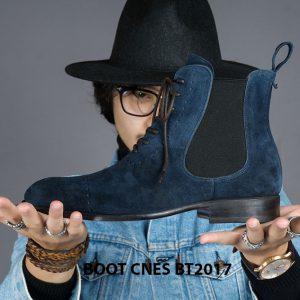 Giày da nam cổ cao Chelsea Boot CNES BT2017 001
