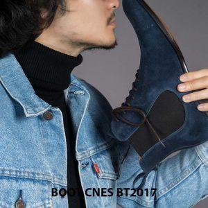 Giày da nam cổ cao Chelsea Boot CNES BT2017 002