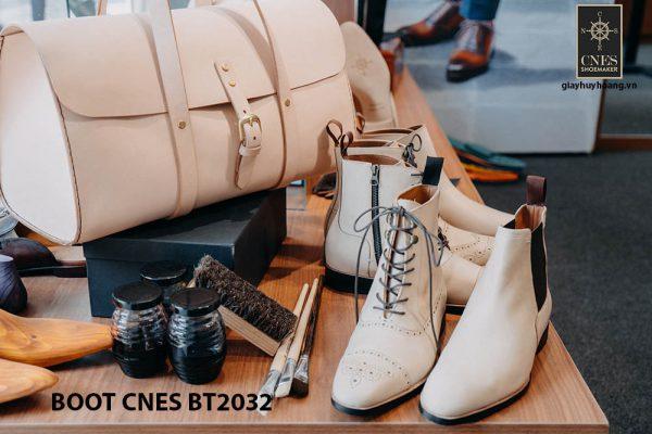 Giày da nam cao cấp Boot CNES BT2032 0011