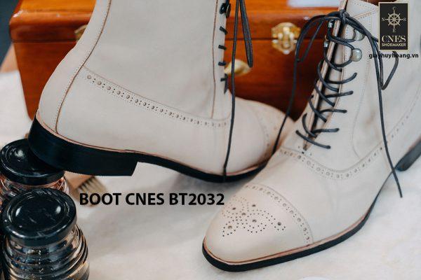 Giày da nam cao cấp Boot CNES BT2032 0012
