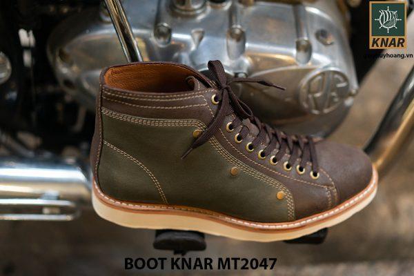 Giày Boot buộc dây chính hãng KNAR BT2047 003
