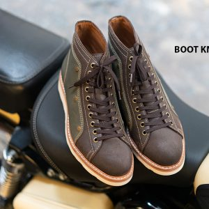 Giày Boot buộc dây chính hãng KNAR BT2047 001