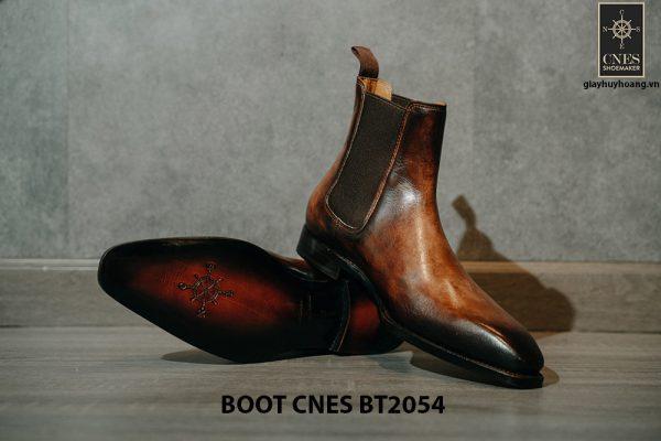 Giày tây nam đế khâu Boot CNES BT2054 002