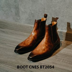 Giày tây nam đế khâu Boot CNES BT2054 001