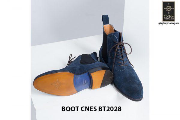 Giày da nam cổ cao LaceBoot CNES BT2028 004