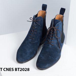 Giày da nam cổ cao LaceBoot CNES BT2028 001