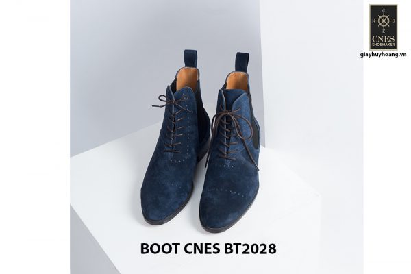 Giày da nam cổ cao LaceBoot CNES BT2028 003