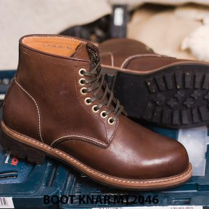 Giày Boot buộc dây thời trang KNAR BT2046 005
