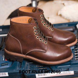 Giày Boot buộc dây thời trang KNAR BT2046 004