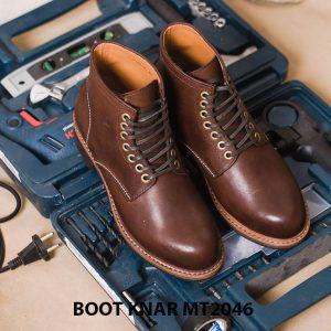 Giày Boot buộc dây thời trang KNAR BT2046 001