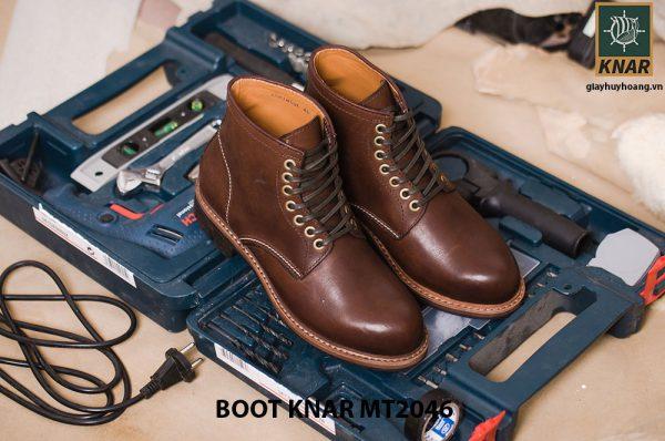 Giày Boot buộc dây thời trang KNAR BT2046 003