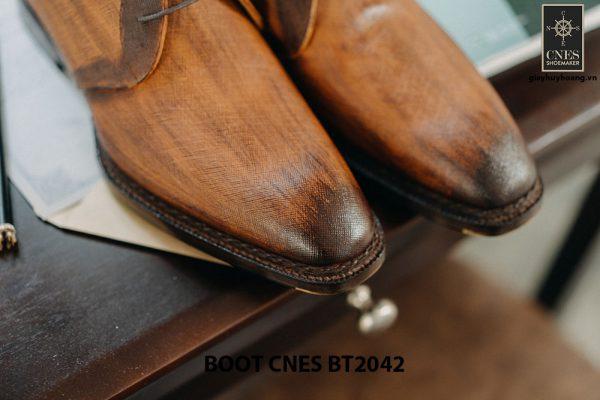 Giày tây nam cổ lửng Chukka Boot CNES BT2043 007