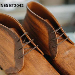 Giày tây nam cổ lửng Chukka Boot CNES BT2043 006