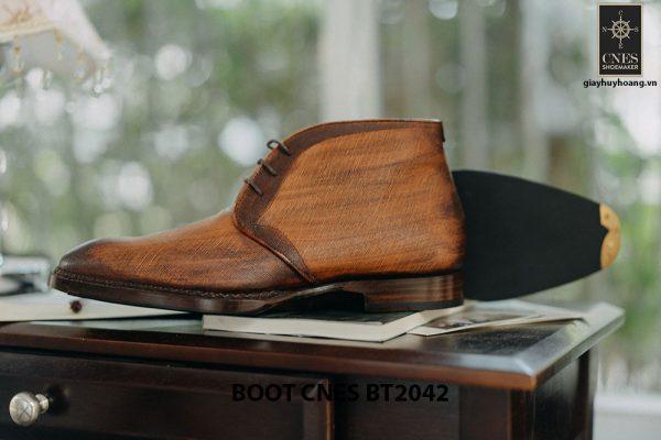 Giày tây nam cổ lửng Chukka Boot CNES BT2043 004