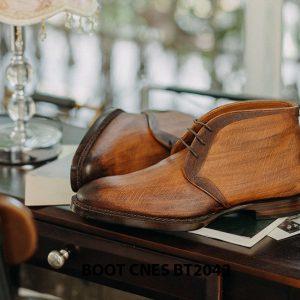 Giày tây nam cổ lửng Chukka Boot CNES BT2043 003