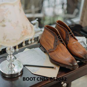 Giày tây nam cổ lửng Chukka Boot CNES BT2043 002