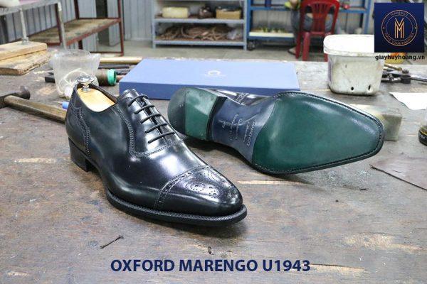 Giày da nam màu đen Oxford Marengo U1943 003