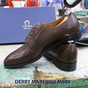 [Outlet size 45] Giày tây nam Derby Marengo MS03 0005