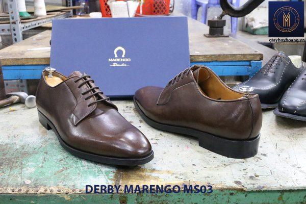 [Outlet size 45] Giày tây nam Derby Marengo MS03 0004