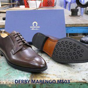 [Outlet size 45] Giày tây nam Derby Marengo MS03 0003