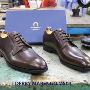 [Outlet size 45] Giày tây nam Derby Marengo MS03 0001