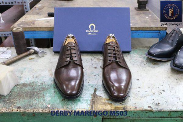 [Outlet size 45] Giày tây nam Derby Marengo MS03 0002