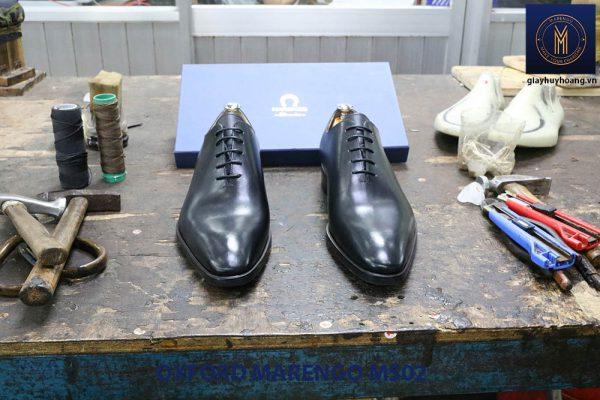 [Outlet] Giày da nam trơn Oxford Marengo MS02 005