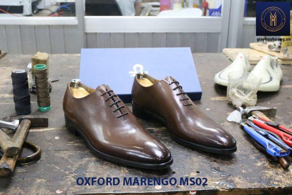 [Outlet] Giày da nam trơn Oxford Marengo MS02 001