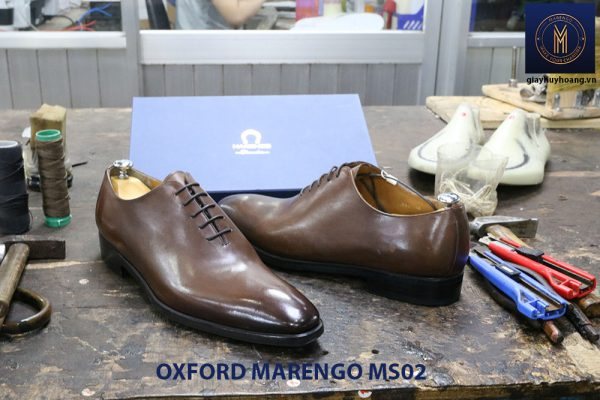 [Outlet] Giày da nam trơn Oxford Marengo MS02 003