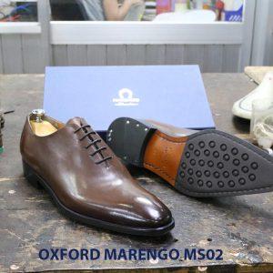[Outlet] Giày da nam trơn Oxford Marengo MS02 002